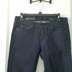 Brand New J. Crew Straight Leg Jeans, Size 27S