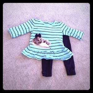 Koala Kids Other - Koala Baby Ridic Cute Matching Set - 6-9 mo