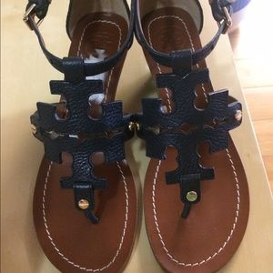 Authentic Preloved Tory Burch sandals sz 6