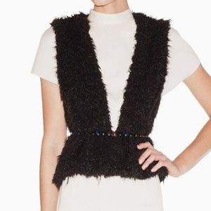 Jackets & Blazers - 🔻FLASH SALE🔻{Stylemint} black fur vest