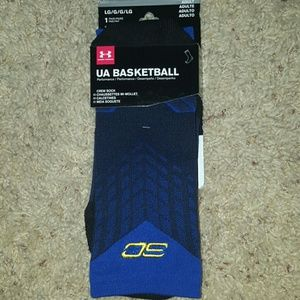 Under Armour Other - Under Armor NWT men's crew bball socks size large