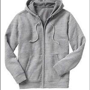 GAP Jackets & Blazers - Gap Fit White Full Zip Fleece Hoodie