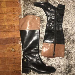 Etienne Aigner authentic leather riding boots