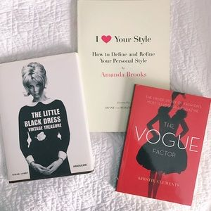 Other - Set of 3 Fashion Books