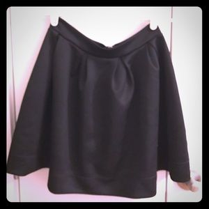 NASTY GAL Scuba Black Mini Skirt