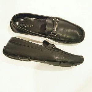 Prada Other - PRADA DRIVER LOAFER MOC SLIP ON BLACK 11 shoes
