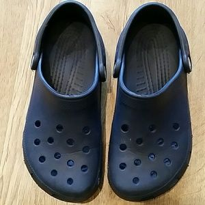 CROCS Other - Great Condition Crocs Navy Blue Size M5 W7