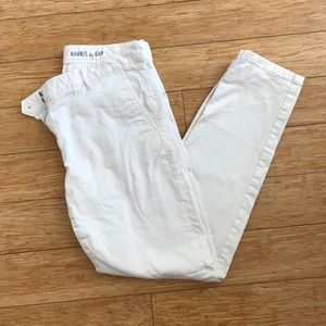Skinny Mini Khakis by Gap