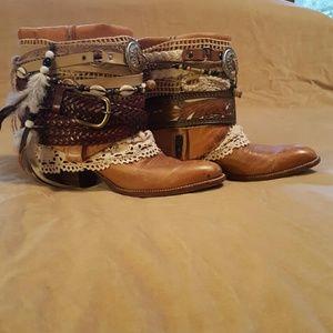 Dan Post Shoes - Dan Post Custom Made 100% Leather Cowgirl Boot