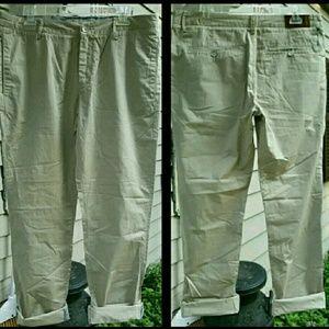 Acne Denim - Acne Boyish Cut/Fit Straight SLOUCHY Khaki pants