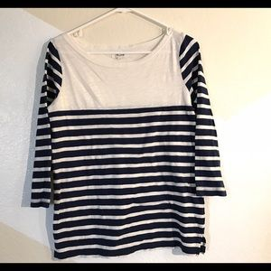Madewell Striped top size S