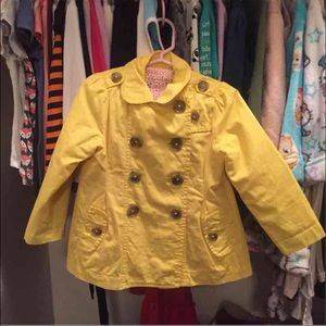 Cherokee Yellow Coat 3T