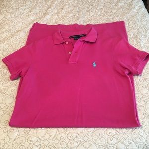 Small pink polo Ralph Lauren dress
