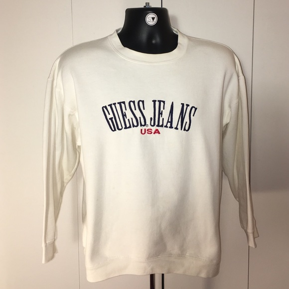 Vintage Guess Jeans Crew Neck Sweat Shirt