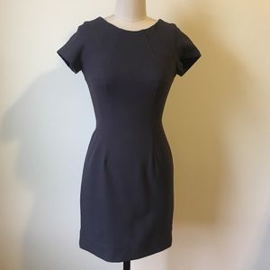 • Shoshanna gray form fitting dress size 4 •