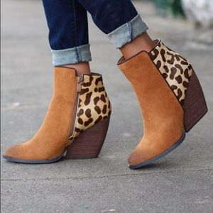 Very Volatile Chatter Leopard Bootie