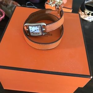 Hermes Accessories - 💜Hermes authentic double tour watch receipt box