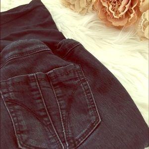 fade to blue denim Pants - Fade to blue maternity denim leggings
