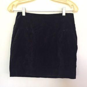 H&M Dresses & Skirts - H&M Black Velvet Mini Skirt