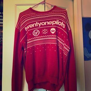 sweaters rare twenty one pilots christmas sweater