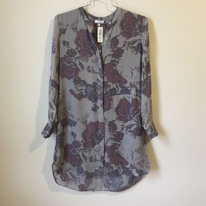 • Wilfred floral 100% silk dress size XXS-S•