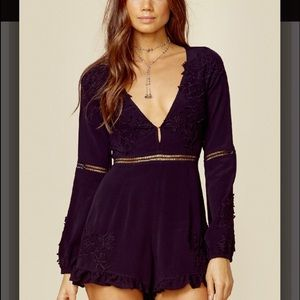 For Love and Lemons Other - For Love and Lemons Lilou Floral Romper