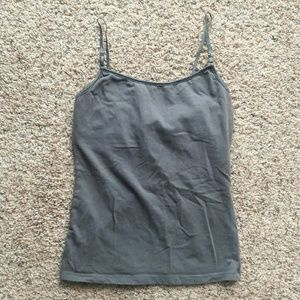 Ambiance Apparel Tops - Built-in Bra Tang Top