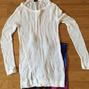 Express Sweaters - Express White Sweater