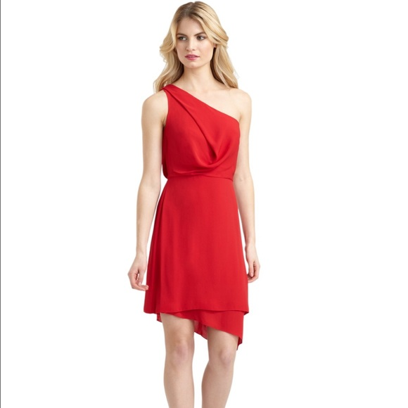 4009961dbd14f BCBGMaxAzria Dresses | Bcbg Max Azria Somara Draped One Shoulder ...