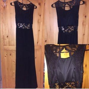 Dresses & Skirts - Black Lace Prom Dress