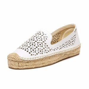 Soludos Shoes - Soludos Leather White Espadrilles