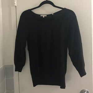 Black Vince cashmere sweater small
