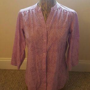 Exofficio Tops - Gorgeous light weight blouse lavender SZ S/P