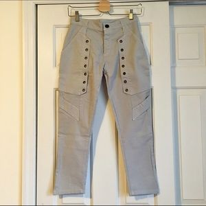 Fun Pants with Button Detail