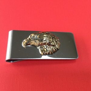 HM Simon Other - Golden American Eagle Money Clip A-1-82