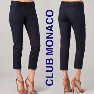 Club Monaco Pants - Club Monaco Ranay Trousers in Navy