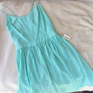 Aeropostale Dresses & Skirts - Teal Aeropostale open-back dress