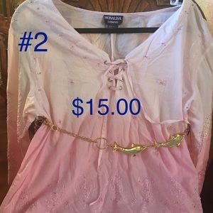 MONA LISA Tops - Pink blouse