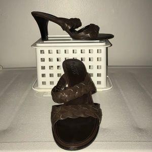 Franco Sarto brown shoes. Size 9