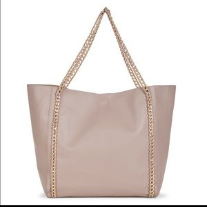 Sole Society Handbags - NWT Oversized Sole Society Dahomey tote bag pouch
