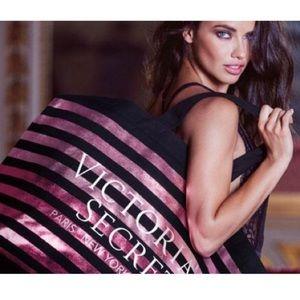 Brand New Victoria's Secret Striped Bag