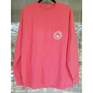 The Southern Shirt Company Tops - !! Southern Shirt Company Branded Pink Long Sleeve
