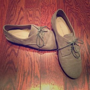 Sole Society Shoes - Suede Loafers