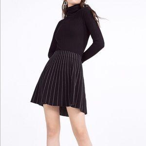 ZARA Knit Pinstripe Skirt