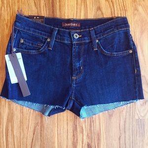 James Jeans Pants - NEW James Jeans Twiggy Legging Cutoff Shorts