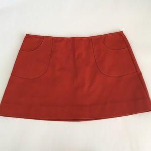 🆕F21 Burnt Orange Mini Skirt