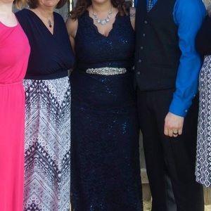 My Michelle Dresses & Skirts - Navy blue prom dress