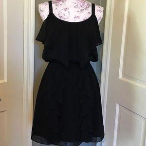 Sugarlips Dresses & Skirts - Black ruffle dress