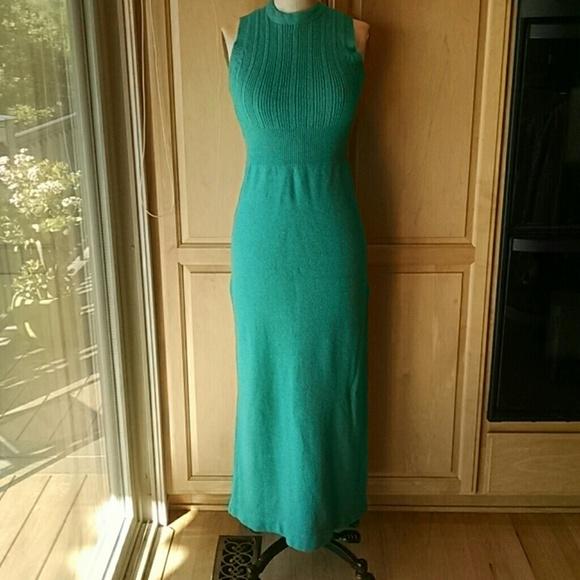 056a7d9be40 bargello Dresses   Skirts - Vintage 70 s bargello maxi sweater dress