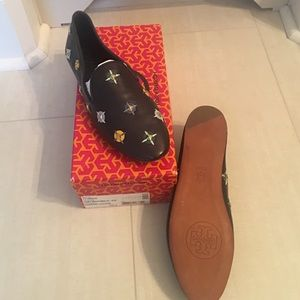 Tory Burch Shoes - New Tory burch jasmine embellished smoking slipper